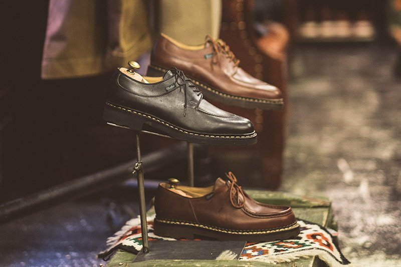 Sapato Paraboot na Code7 Moscow