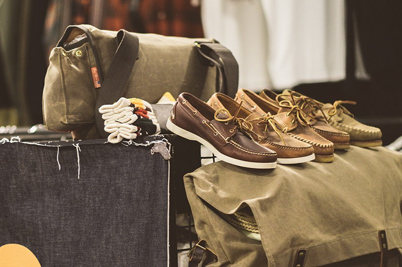 Sapatos dockside Sebago na Code7 Moscow