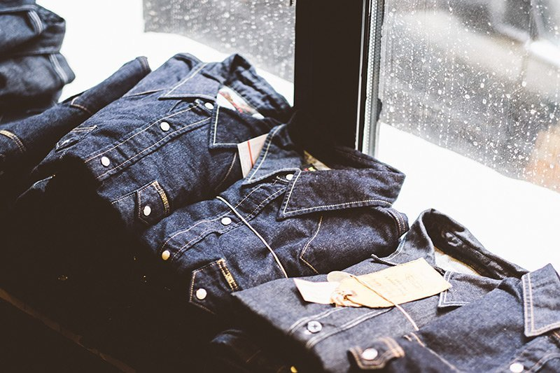 Camisas western jeans na Code7 em Moscow