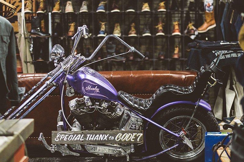 Harley Kustom na Code7 em Moscow