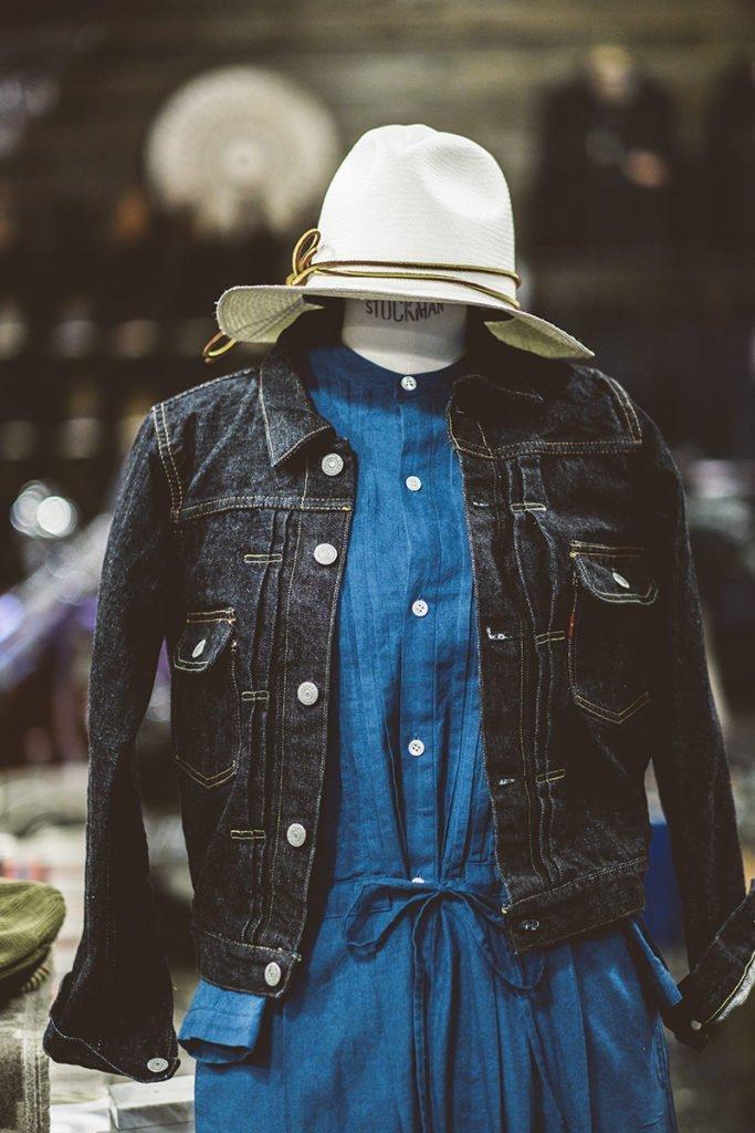 Jaqueta jeans Orslow feminina na Code7 Moscow