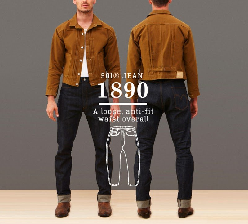 Calça Jeans Levis 501 1890