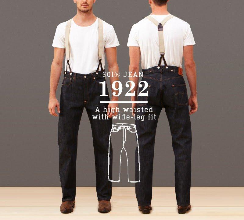 Calça Jeans Levis 501 1922
