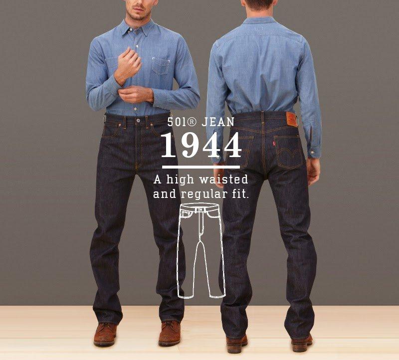 Calça Jeans Levis 501 1944