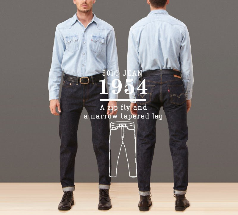 Calça Jeans Levis 501 1954