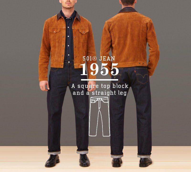 Calça Jeans Levis 501 1955