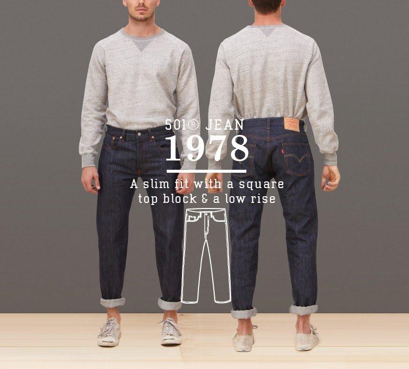 Calça Jeans Levis 501 1978