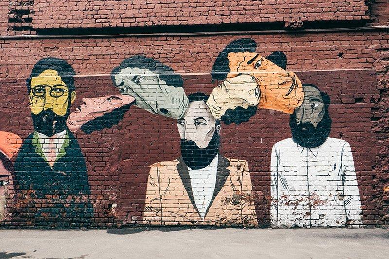 Arte urbana em Moscow