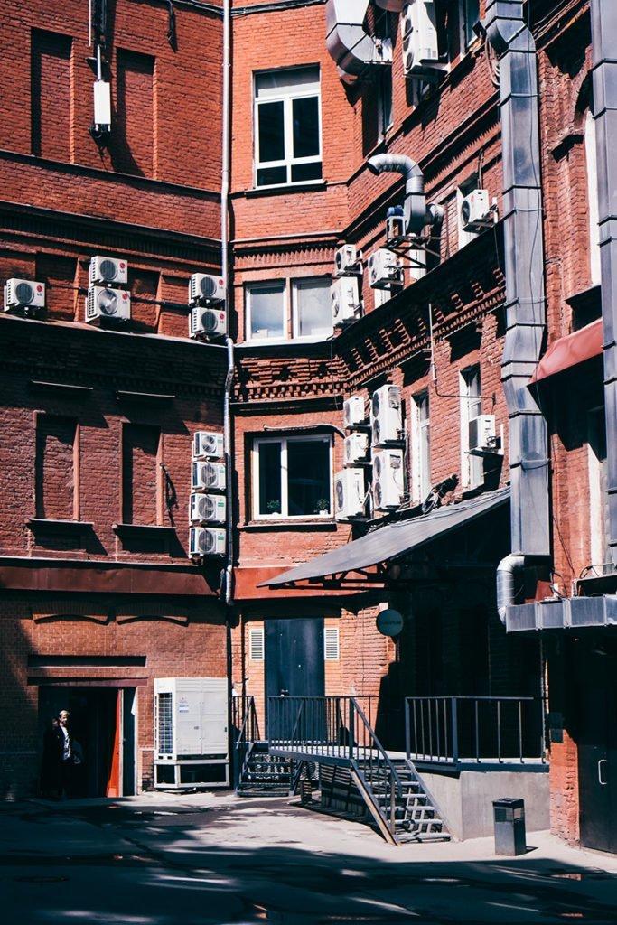 Bairro Revitalizado em Moscow