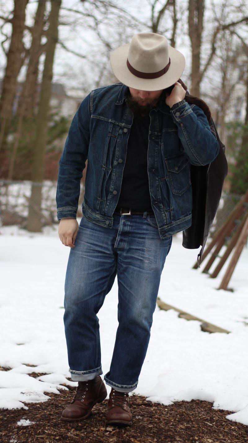 jaqueta jeans levis vintage clothing type 1
