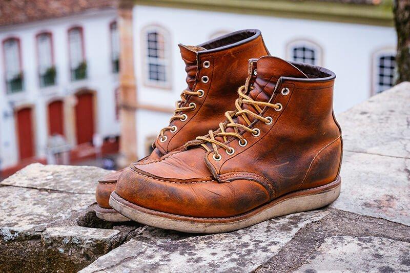 63c60d1fe0ee7 Red Wing Boots 875 – Review das botas moc toe originais