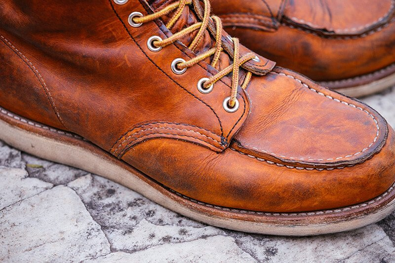 Bota Moc Toe Red Wing Boots 875