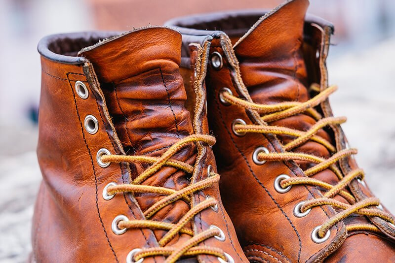 Bota Moc Toe Red Wing Boots 875