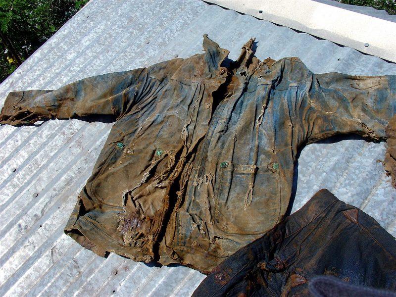 jaqueta jeans levis de 1874