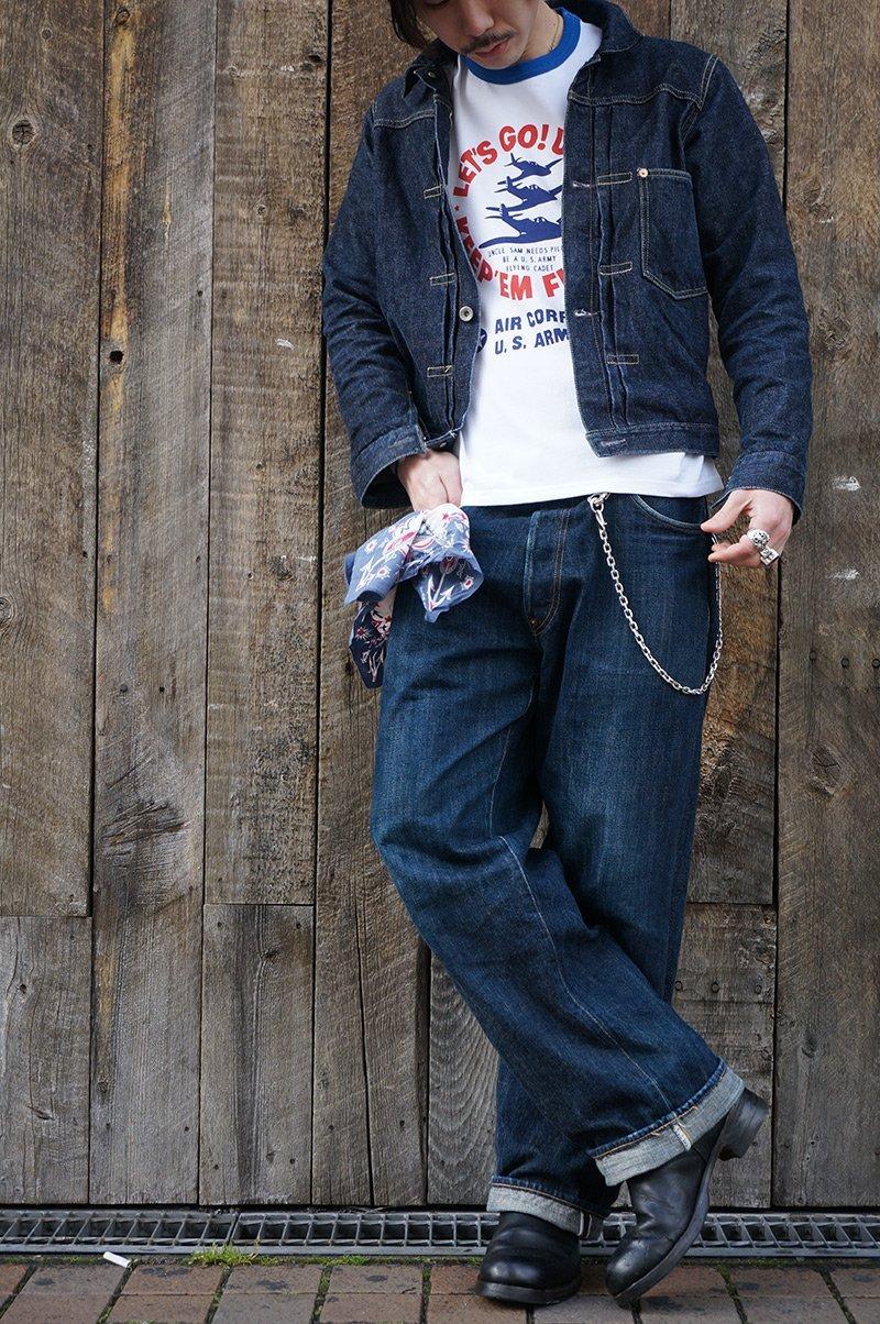 jaqueta jeans levis type 1