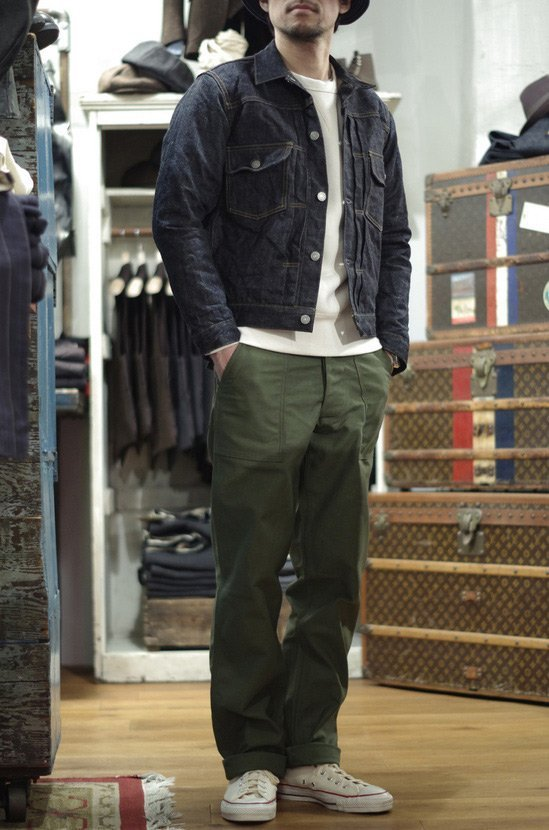 jaqueta jeans real mccoys type 2
