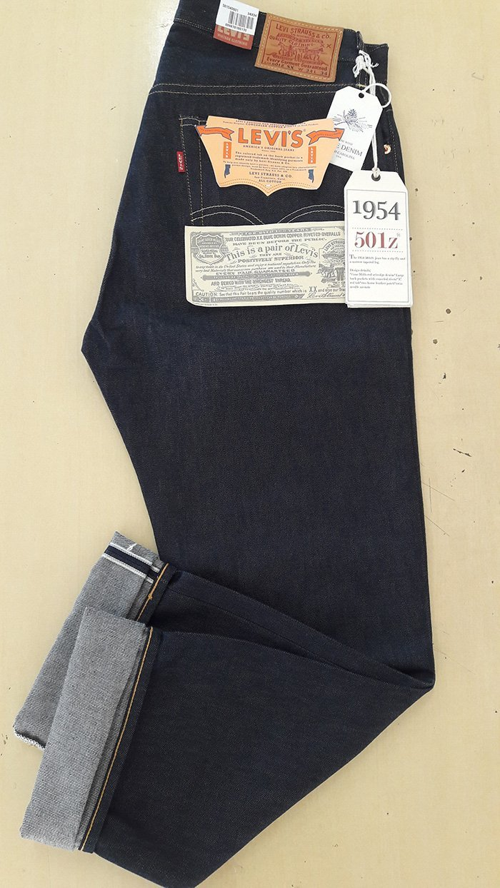 Levi s 501 1954 – Review do jeans Levis Vintage Clothing   Só Queria ... 2c30c87d44