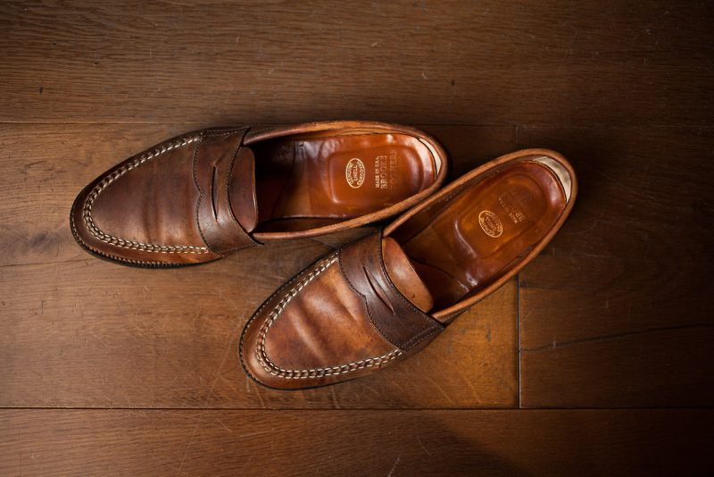 penny loafer alden