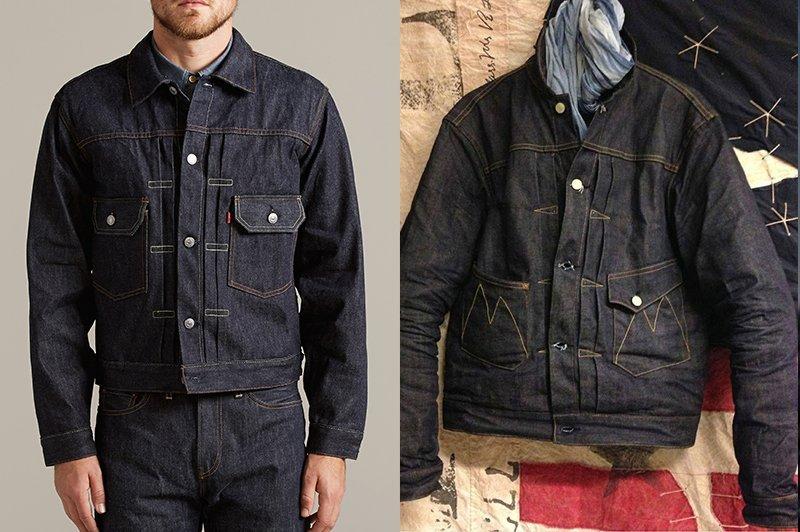 jaquetas jeans workwear