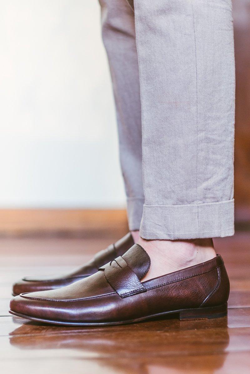 Sapato Louie Mocassim Masculino Gorm Café
