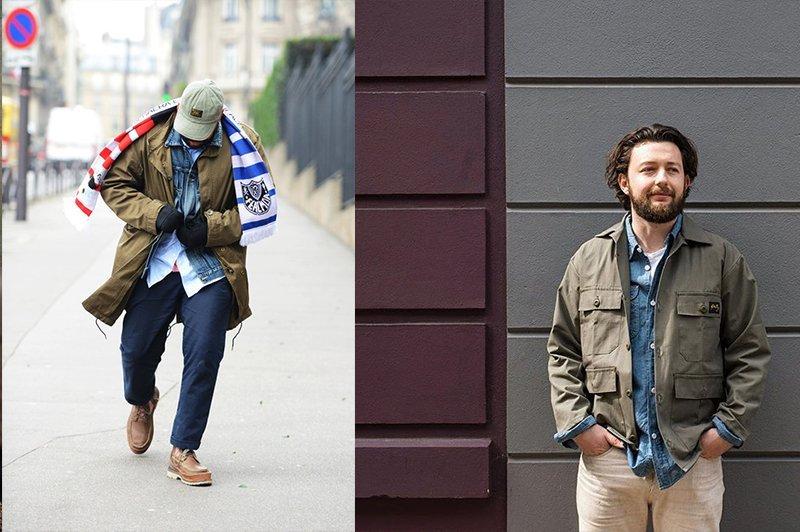 jaquetas militares