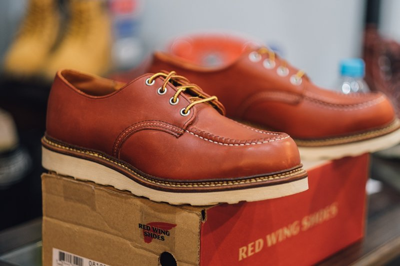 sapato red wing oro russet