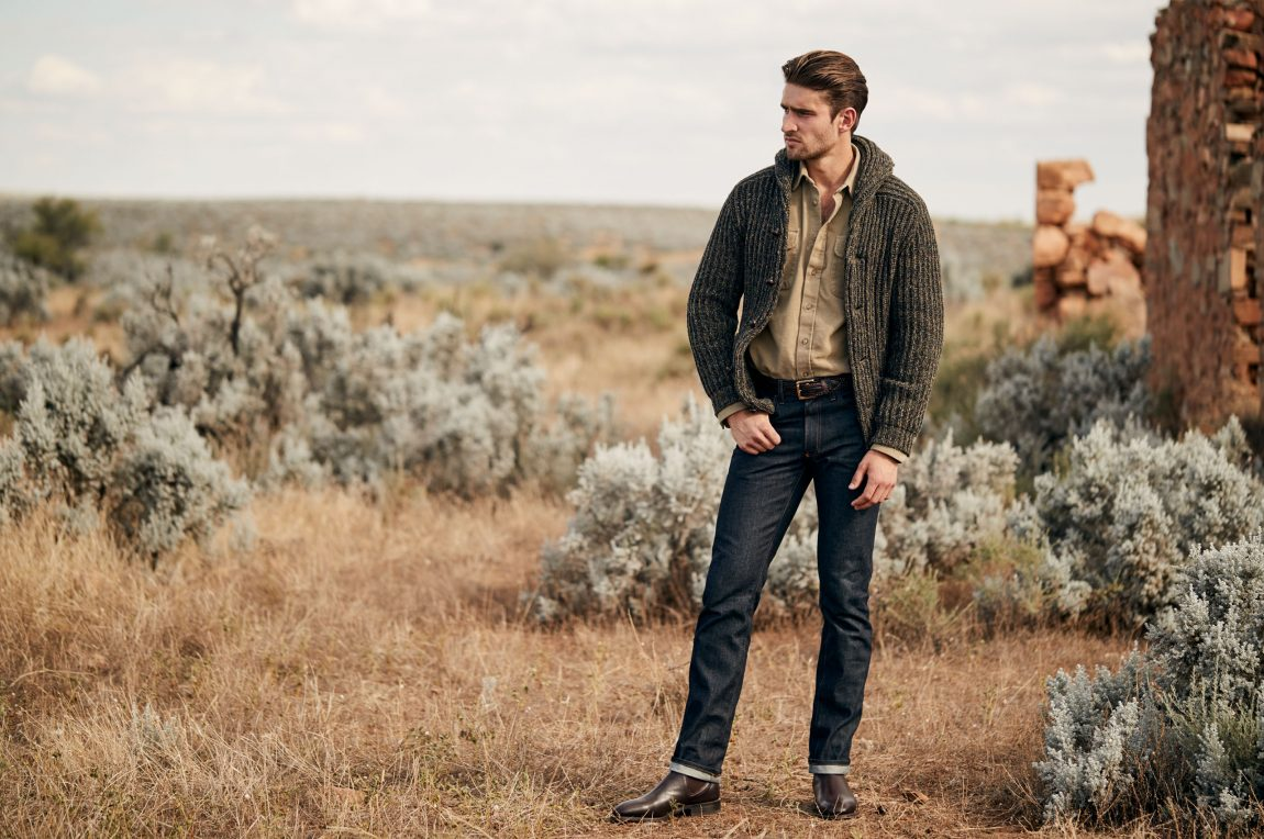 lookbook RW Williams com chelsea boots masculina