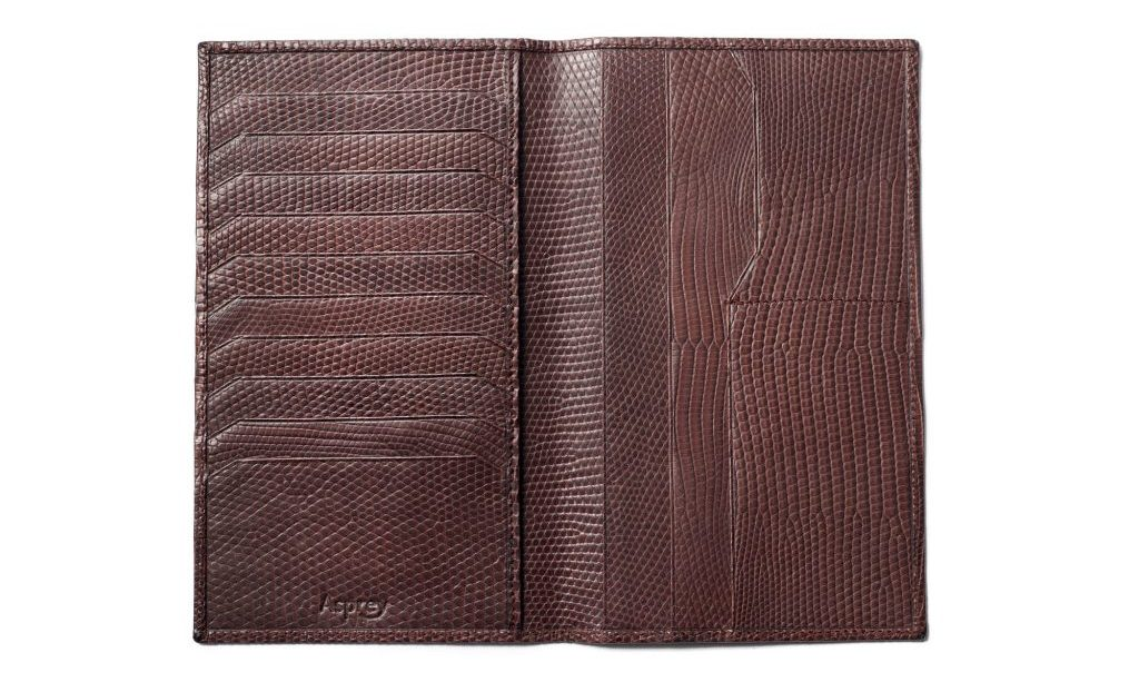 carteira masculina couro de jacare