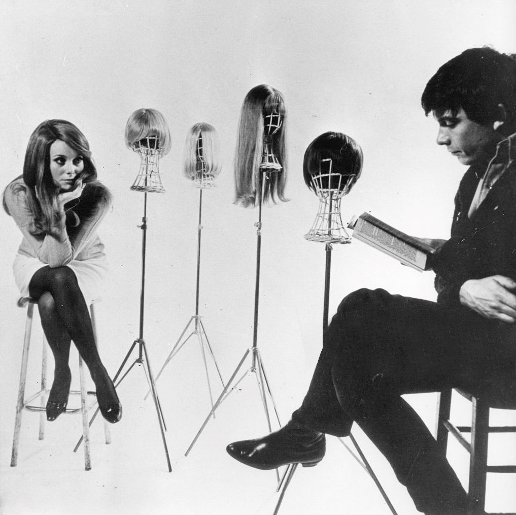 Catherine Denueve e David Bailey