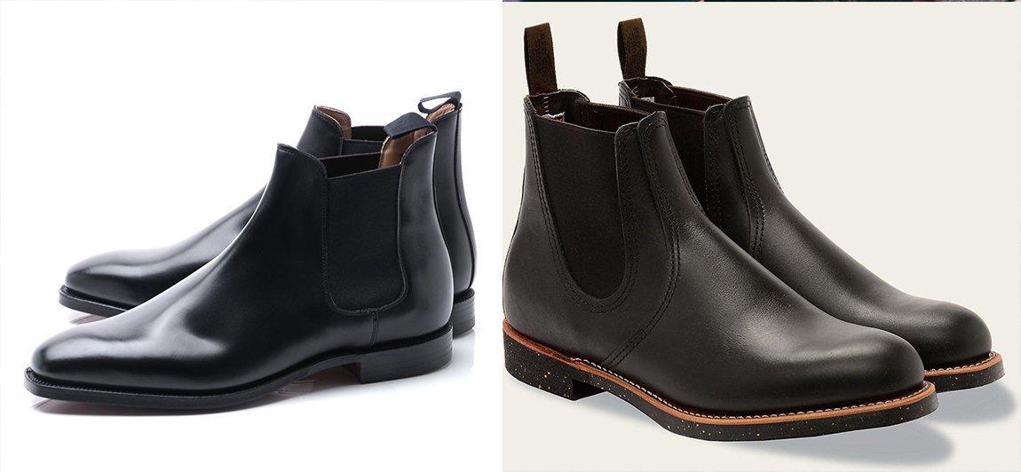 chelsea boots masculinas pretas