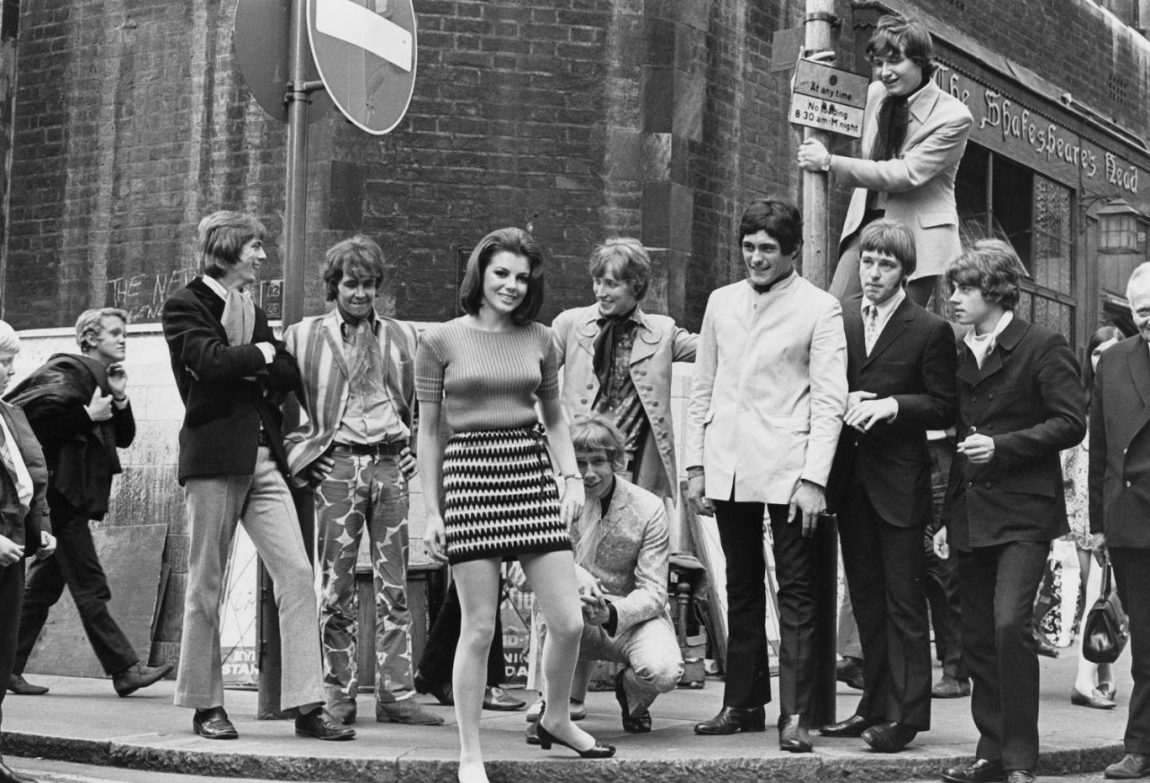 Carnaby Streets nos anos 60