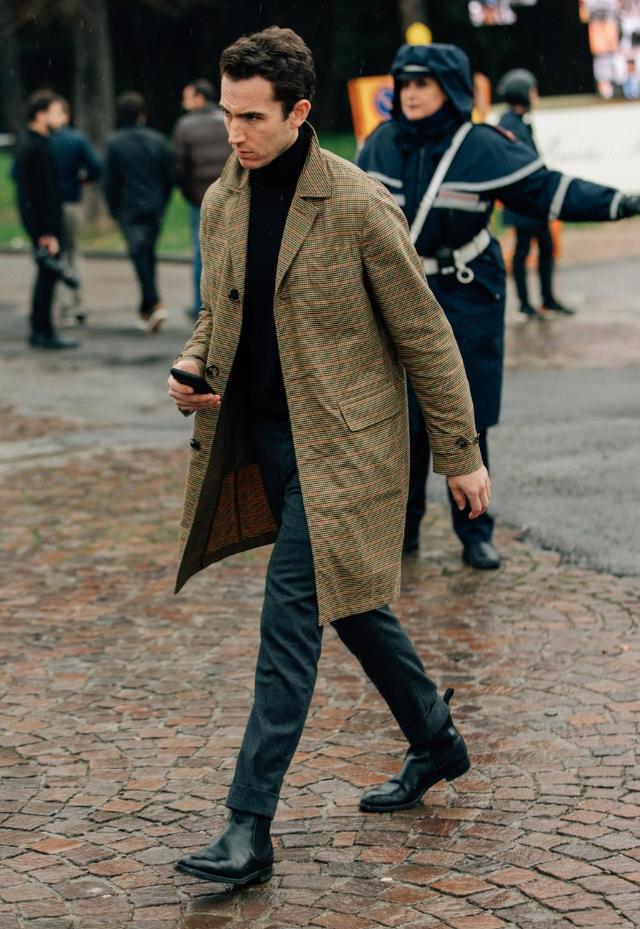 chelsea boot masculina com terno