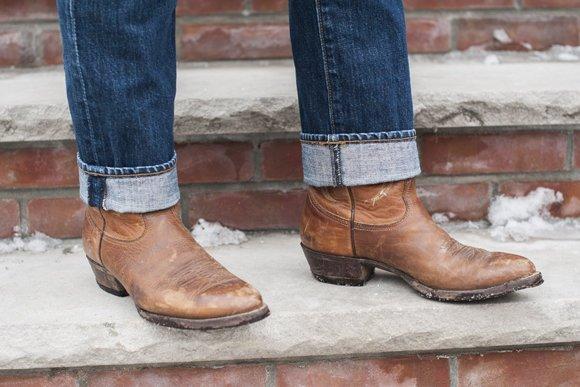 botas masculinas cowboy e pecos