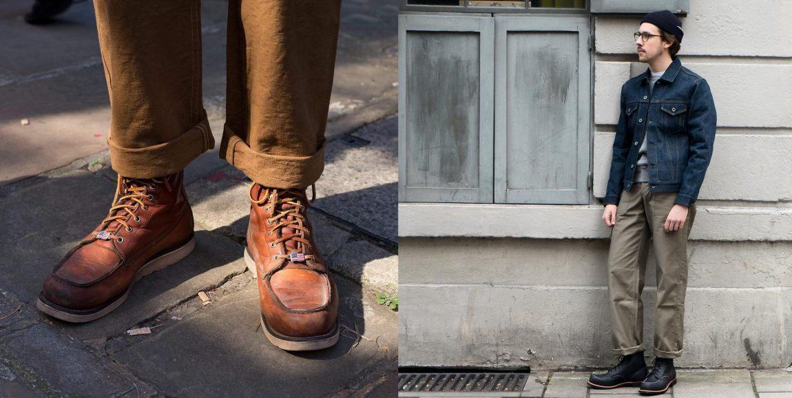 botas masculinas moc toe rústicas