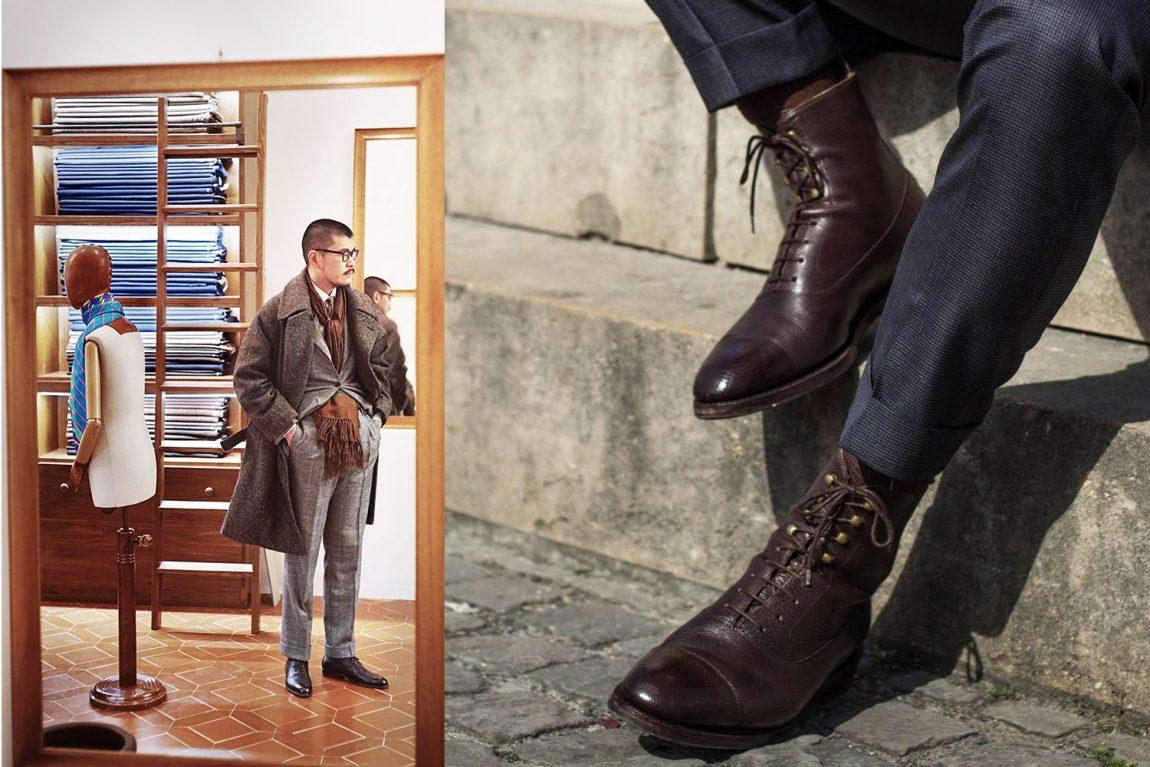 bota masculina social oxford marrom