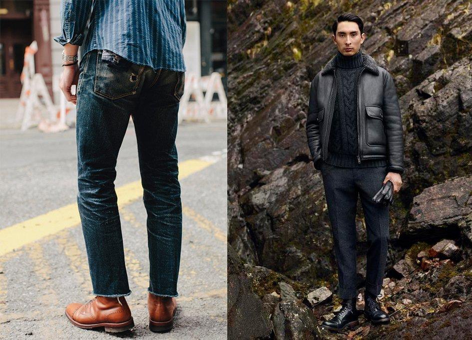 como usar botas masculinas