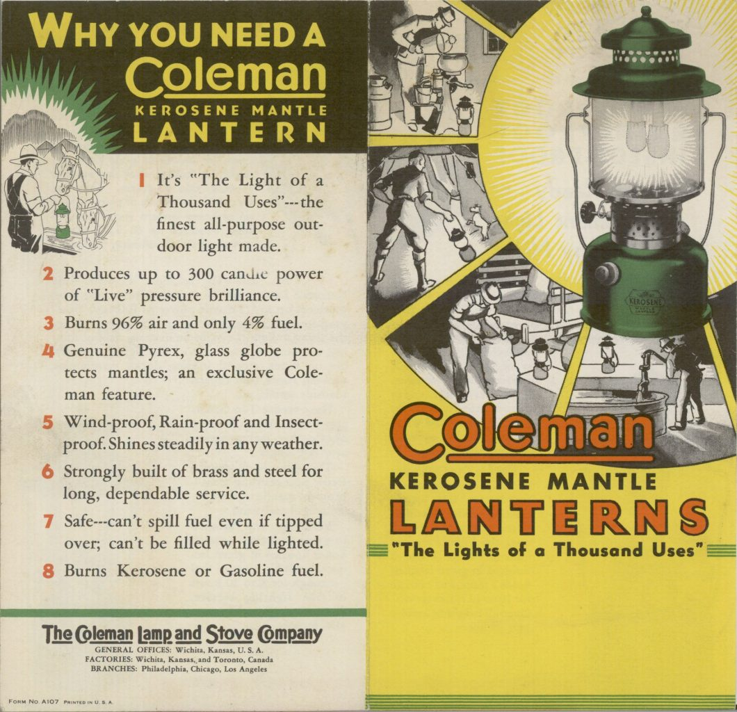 lanterna coleman