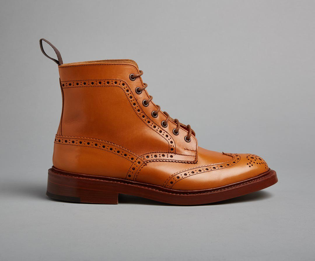bota masculina brogue