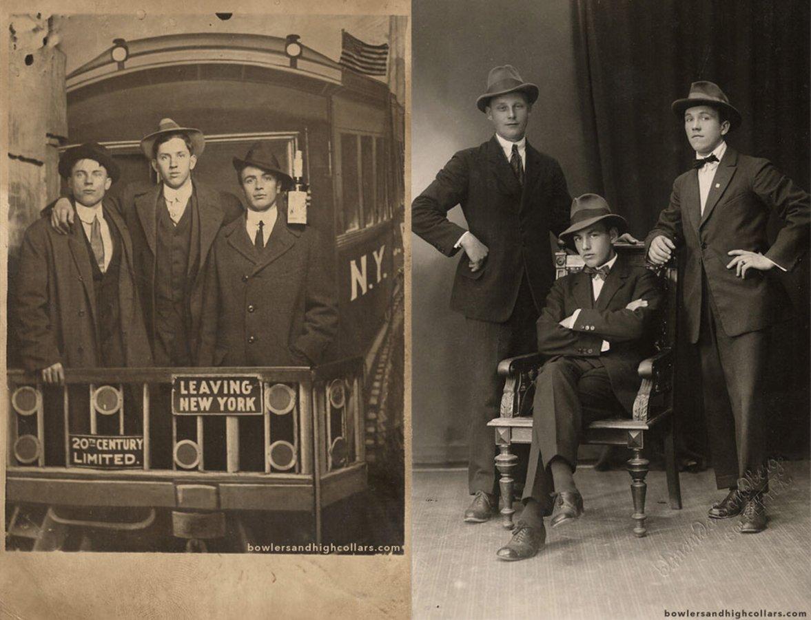 Fotos de fedora na década de 1920