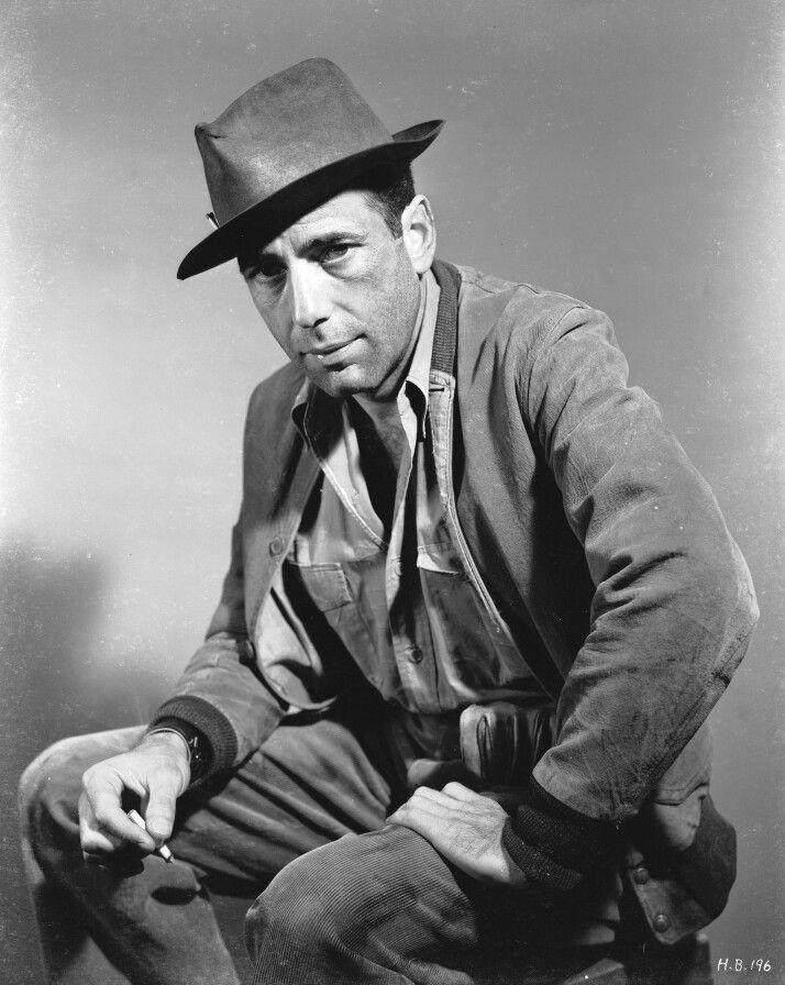 Humphrey Bogart chapéu Fedora