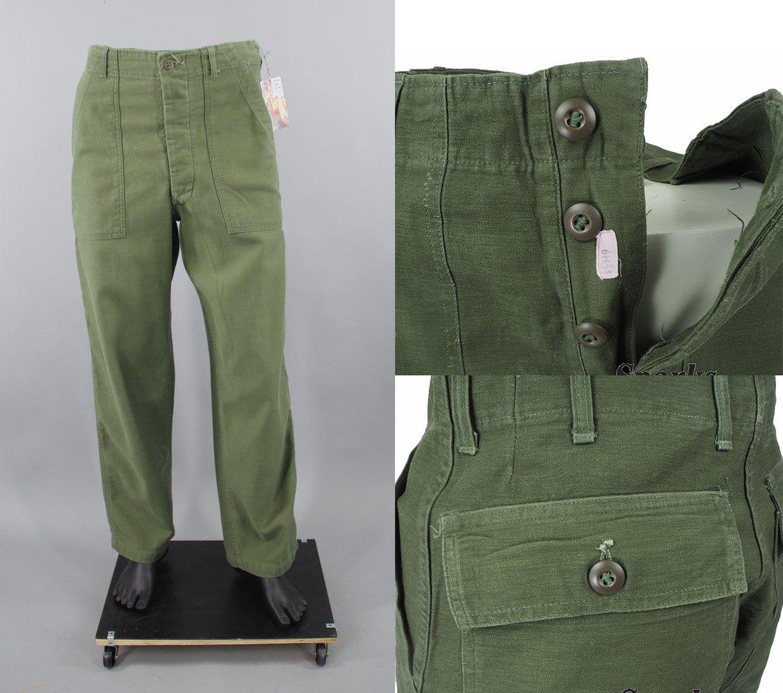 calça militar vintage og 107