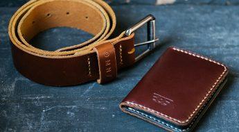 Omnes Original Goods carteira e cinto