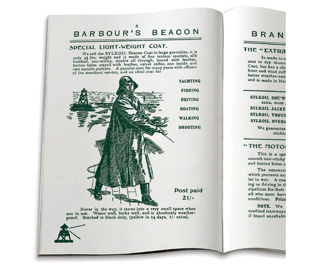 Catálogo Barbour Vintage