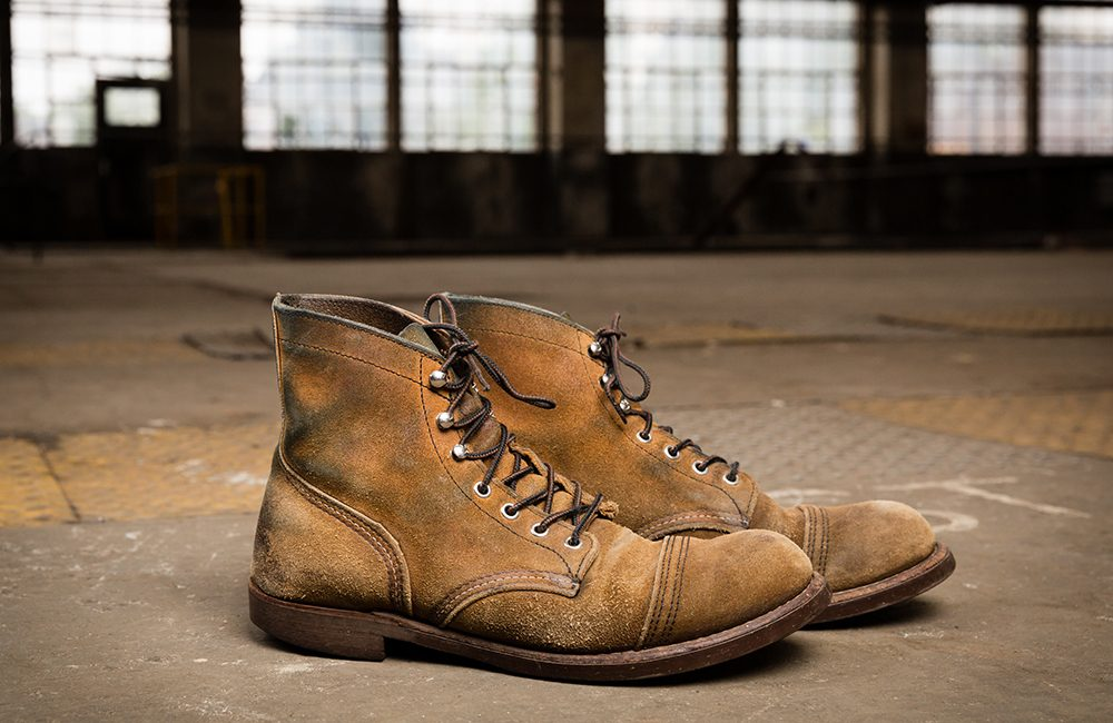 Bota Red Wing Iron Ranger Rough Out