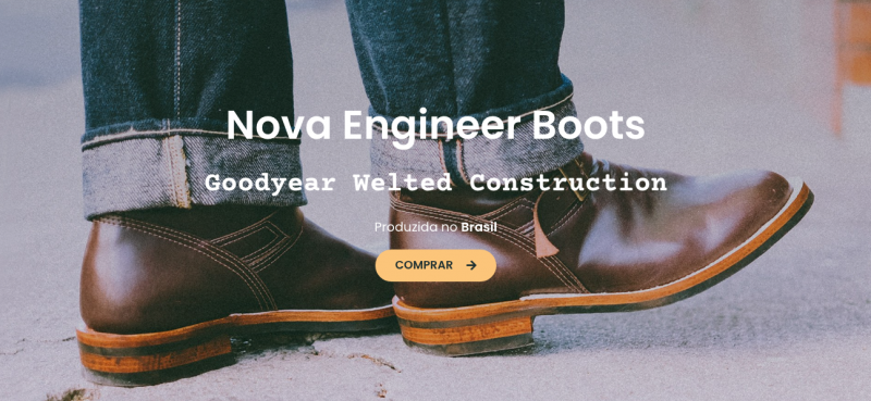 engineer boot goodyear welted