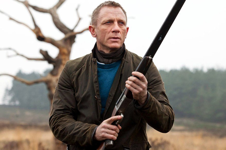 james Bond jaqueta Barbour