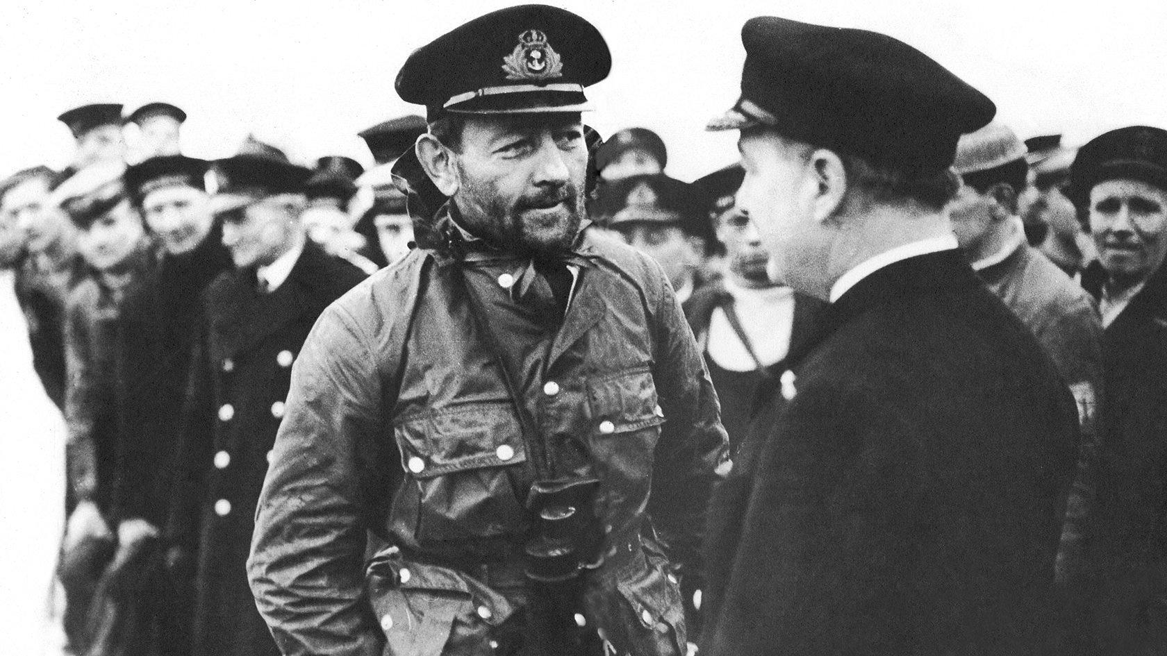 Capitão George Philips vestindo a Barbour Ursula