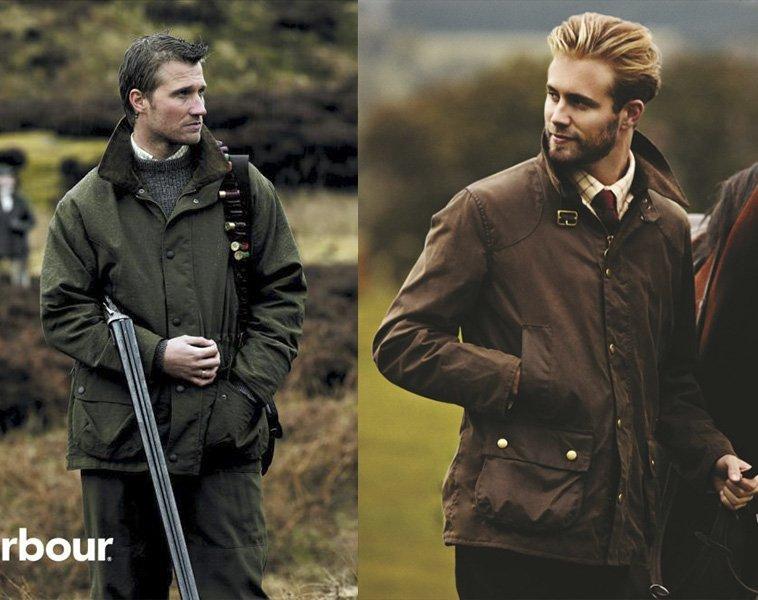 Como usar jaquetas Barbour
