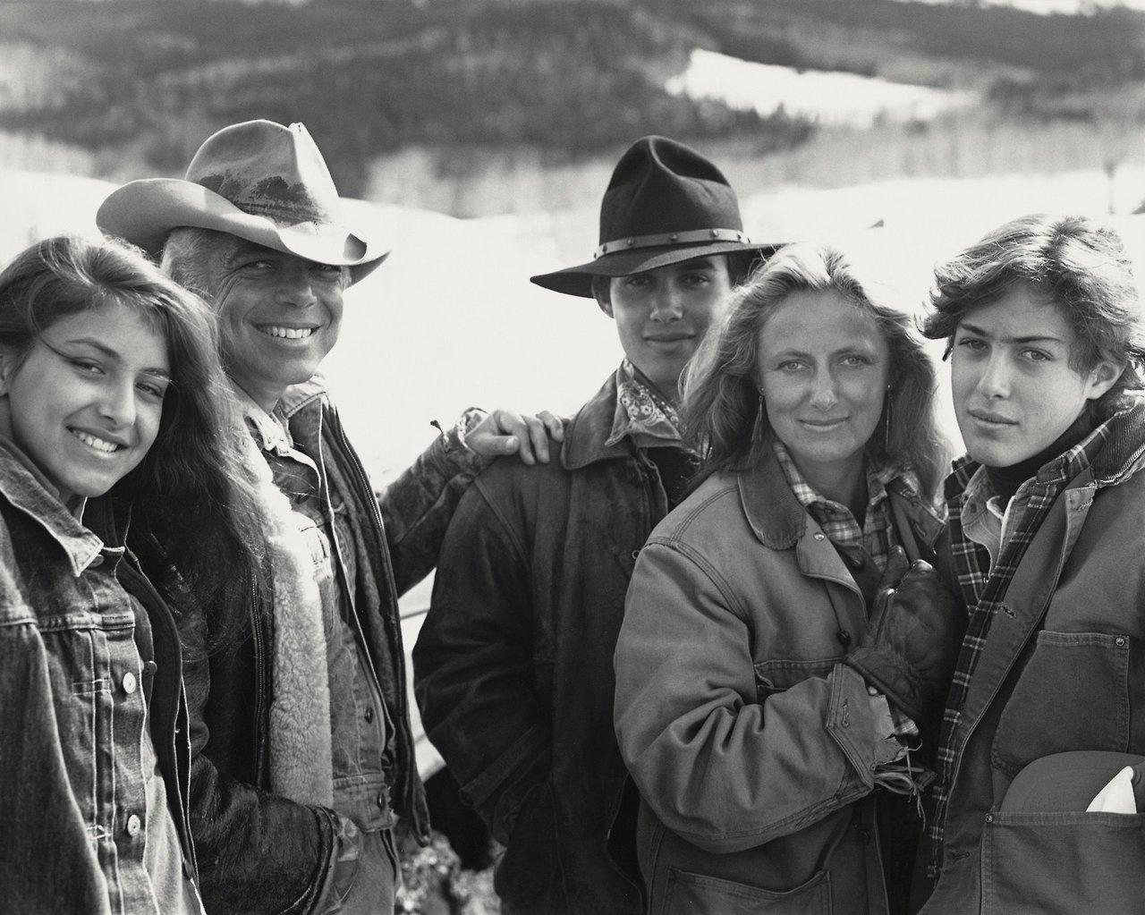 Ralph Lauren e família