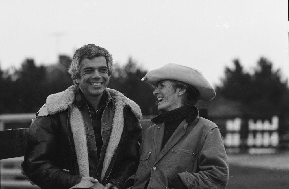 Ralph Lauren e Ricky Lauren